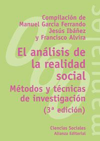 El análisis de la realidad social: Métodos y técnicas de investigación